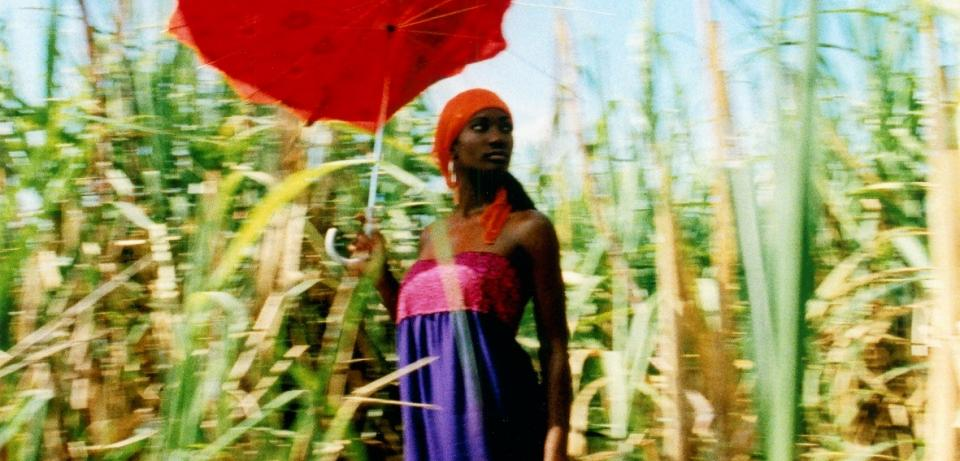 Esther Haase Red Umbrella in Cornfield Havanna 2003 web Esther Haase: Red Umbrella in Cornfield, Havanna 2003