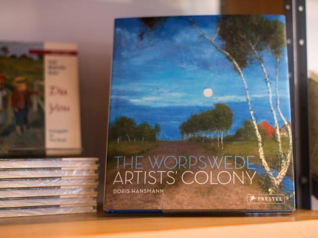 Buch: the worpswede artists' colony, Foto: freiraumfotografie, Bremen