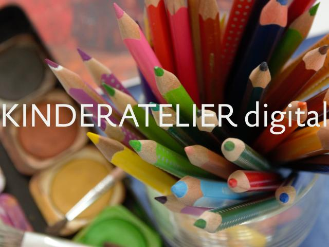 Ausschnitt Website Kinderatelier digital Copyright
