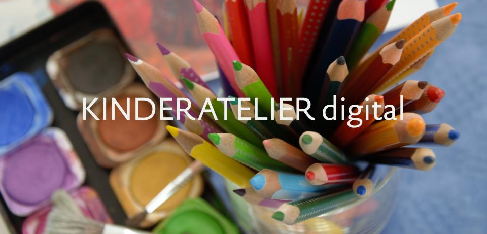 Ausschnitt Website Kinderatelier digital